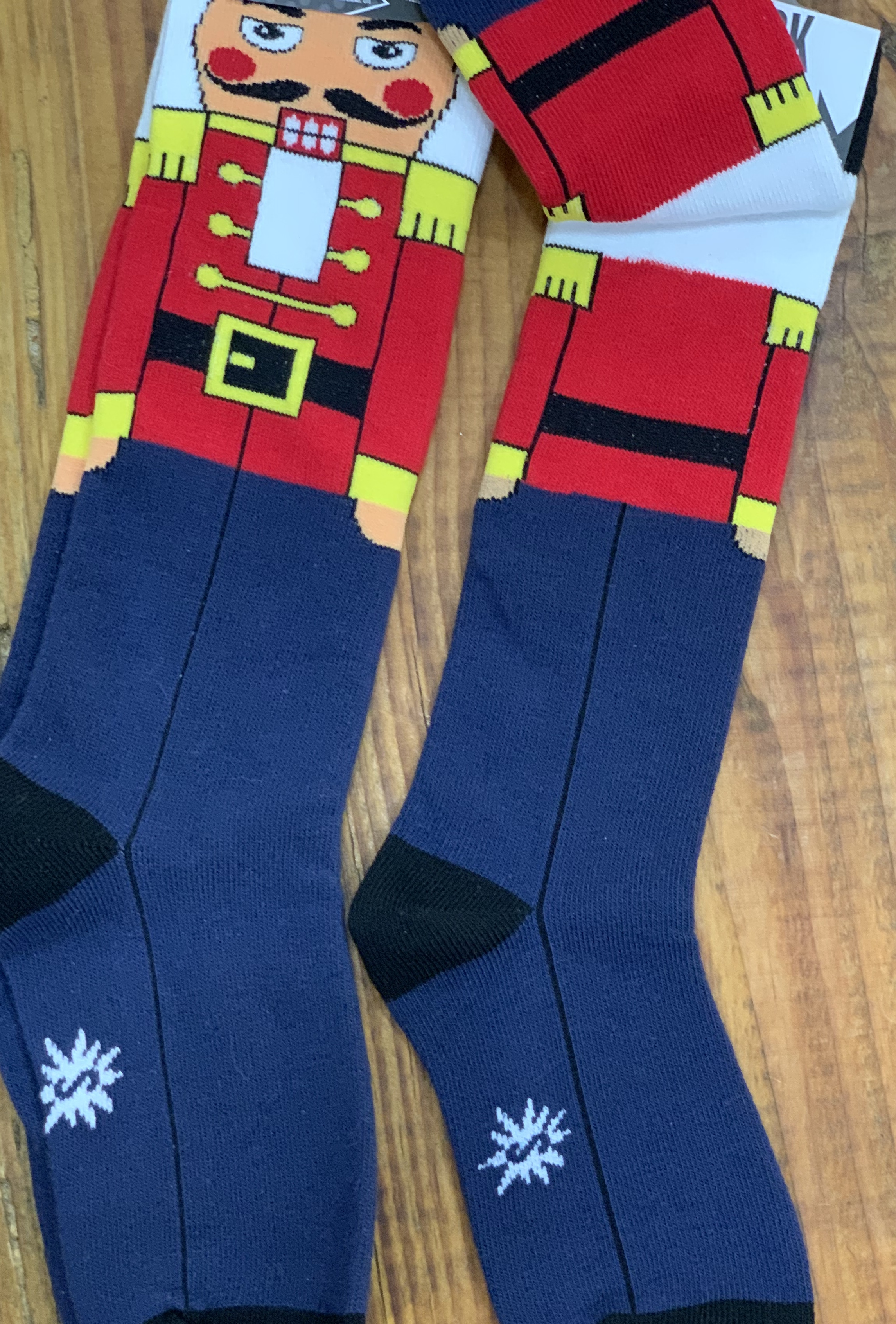 Junior Nutcracker socks