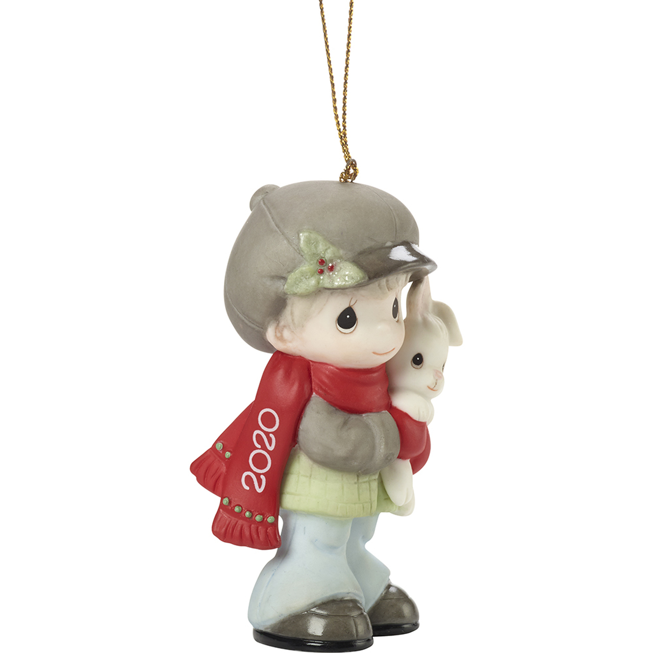 Every Bunny Loves A Hug - Precious Moment 2020 dated Boy ornament