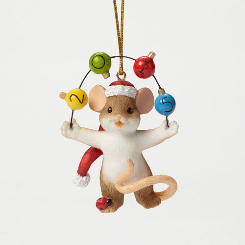 2015 dated Charming Tails ornament