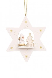 White Santa in Star