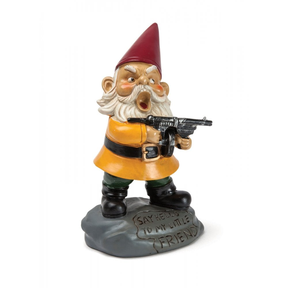 The Angry Little Garden Gnome