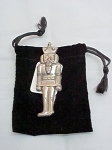sterling nutcracker pin