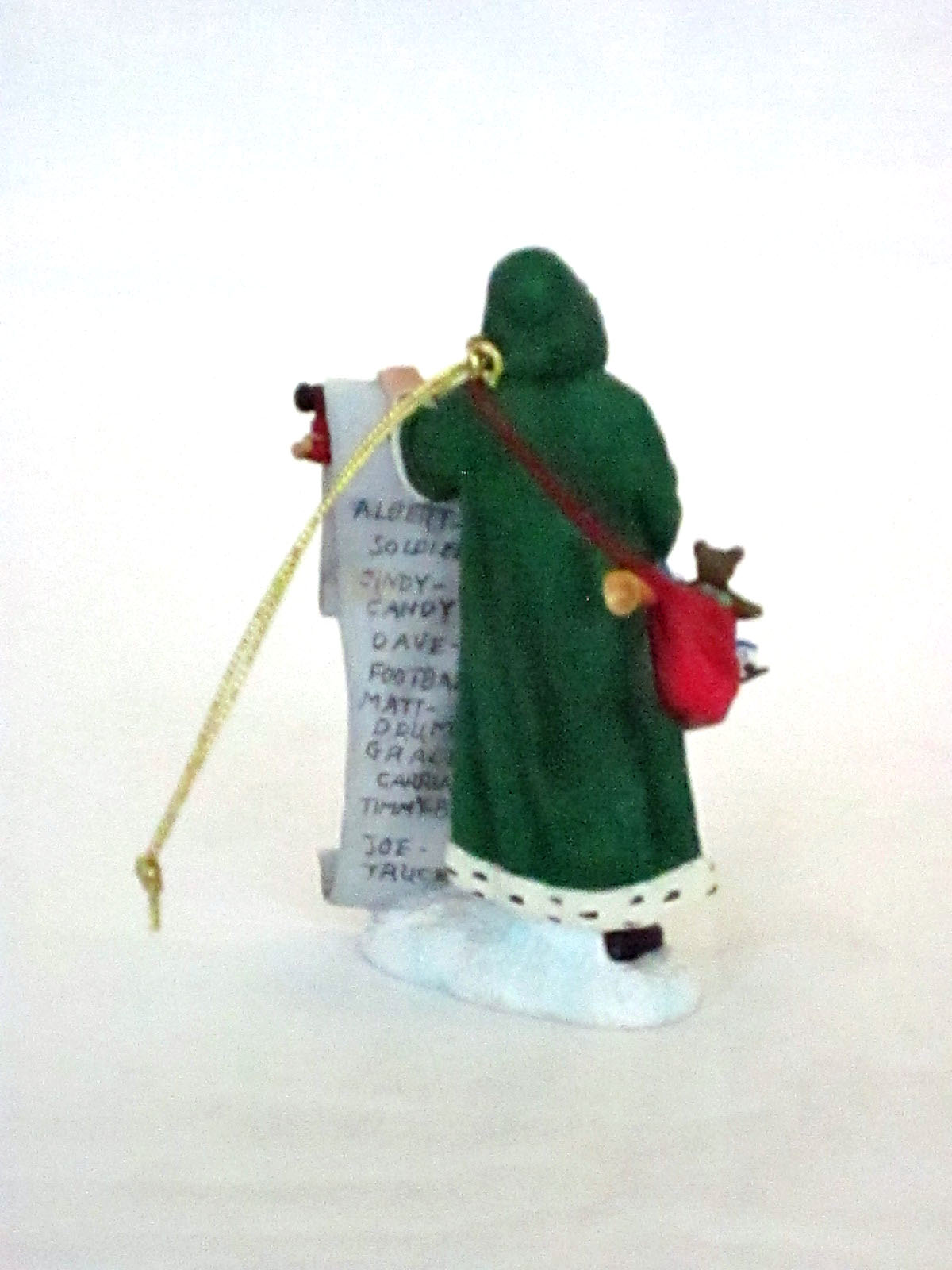 Santa's Big List ornament