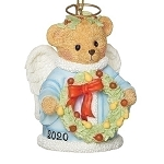 2020 Cherished Teddy  Annual Angel Bell Ornament