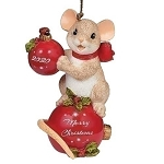 2020 dated Charming Tails ornament - Have Yourself A Merry Little Christmas
