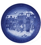 2018 dated Royal Copenhagen Plate