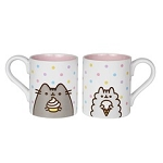 Pusheen & Stormy with Sweets Mug Set