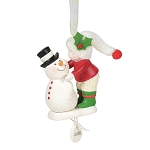 Frosty Kisses - Snowbaby dated 2020 ornament