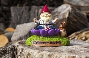 Mindful Meditation Garden Gnome