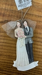 Personalizable Wedding ornament