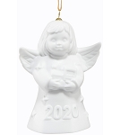 2020 Goebel White Angel Bell