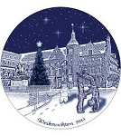 Berlin Design Christmas 2014 Plate