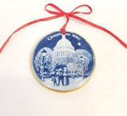 Bing & Grondahl Christmas 1990 ornament