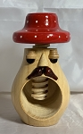 Czech Red Dot Hat Nutcracker