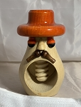 Czech Orange Hat Nutcracker