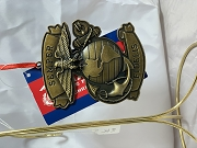 Marines. The Few. The Proud. pressed metal ornament
