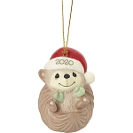 Sending Hedge Hugs - Precious Moments dated 2020 animal ornament
