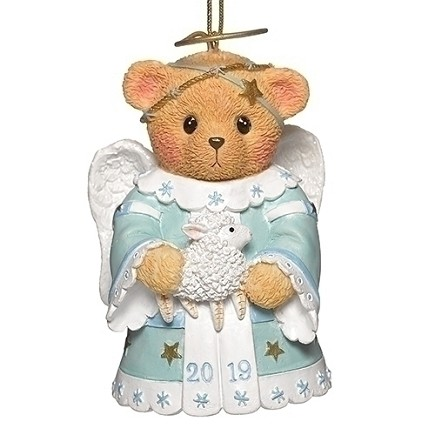 2019 Cherished Teddy dated Angel ornament
