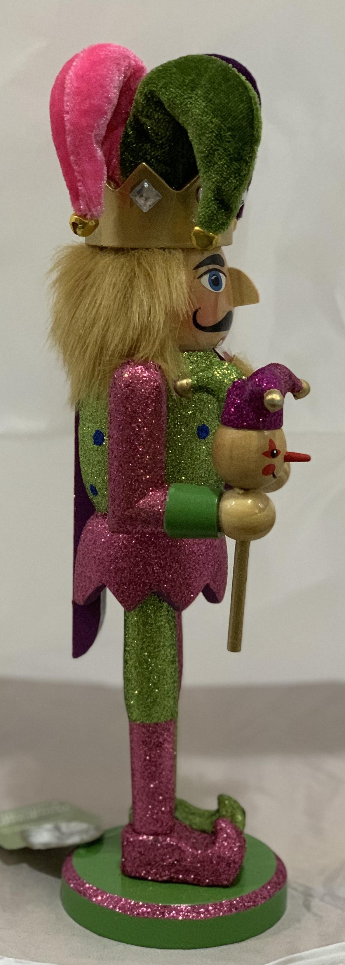 Santas Workshop Jester Nutcracker 12