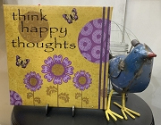 think happy canvas sign